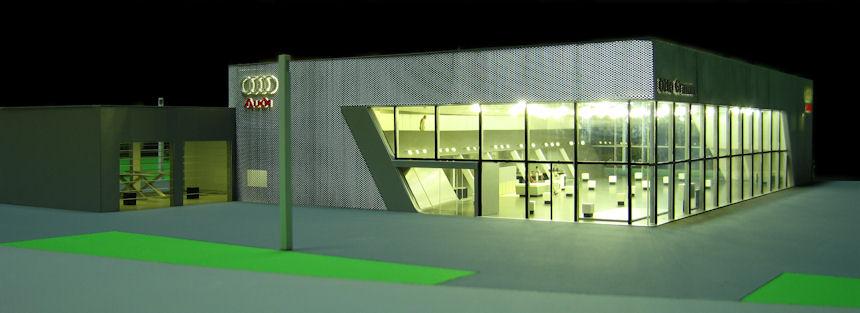 Audi Terminal Architekturmodellbau Rico Hecht Potsdam